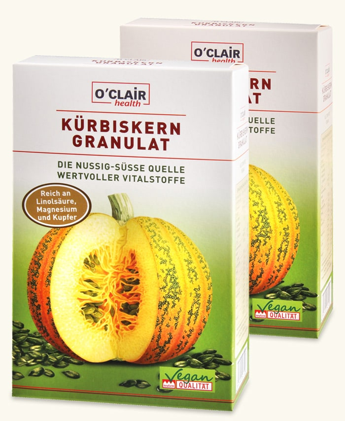 O´CLAIR Kübiskern Granulat Packung