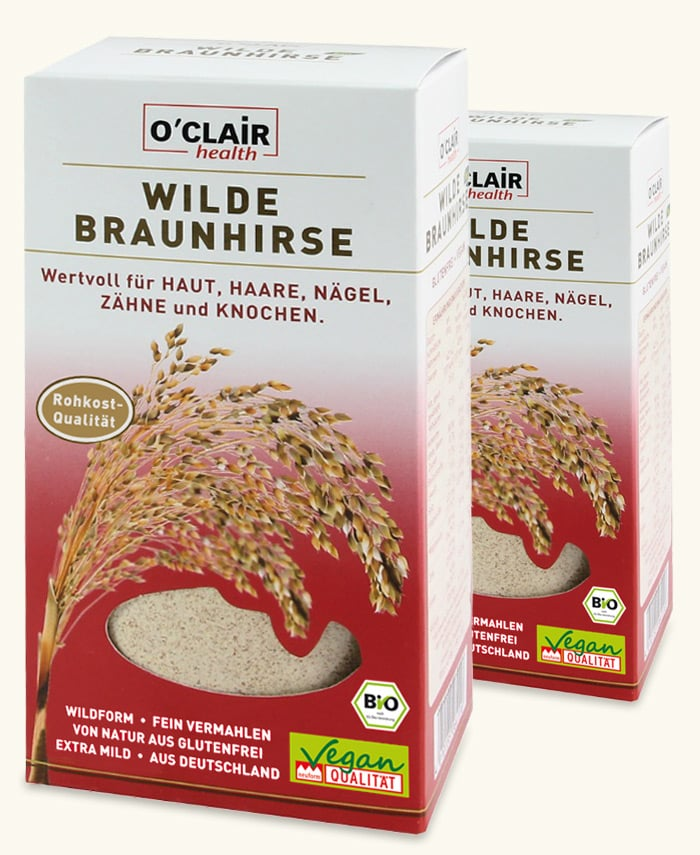 O´CLAIR Wilde Braunhirse Packungen